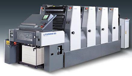 小森印刷机